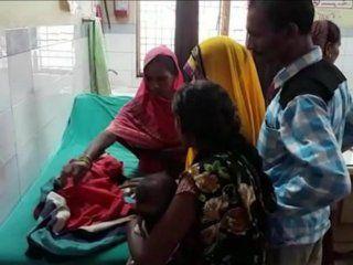 conmocion en un pueblo de la india por el nacimiento de una nena con tres cabezas