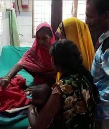 Conmoción en la India por la nena con tres cabezas