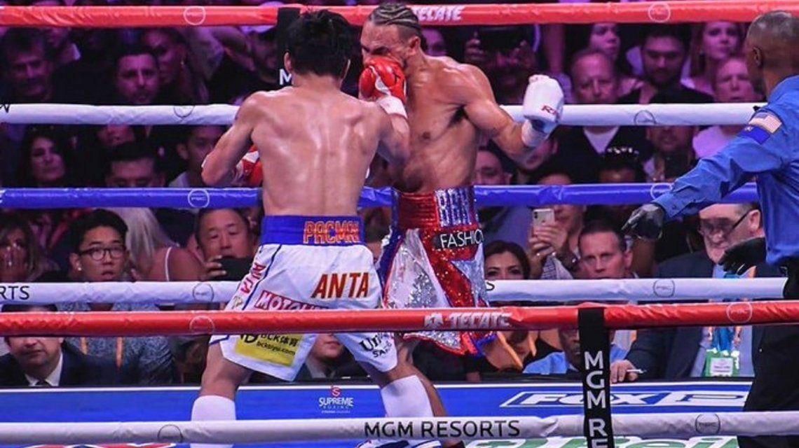 Manny Pacquiao le ganó a Keith Thurman y es supercampeón de la AMB