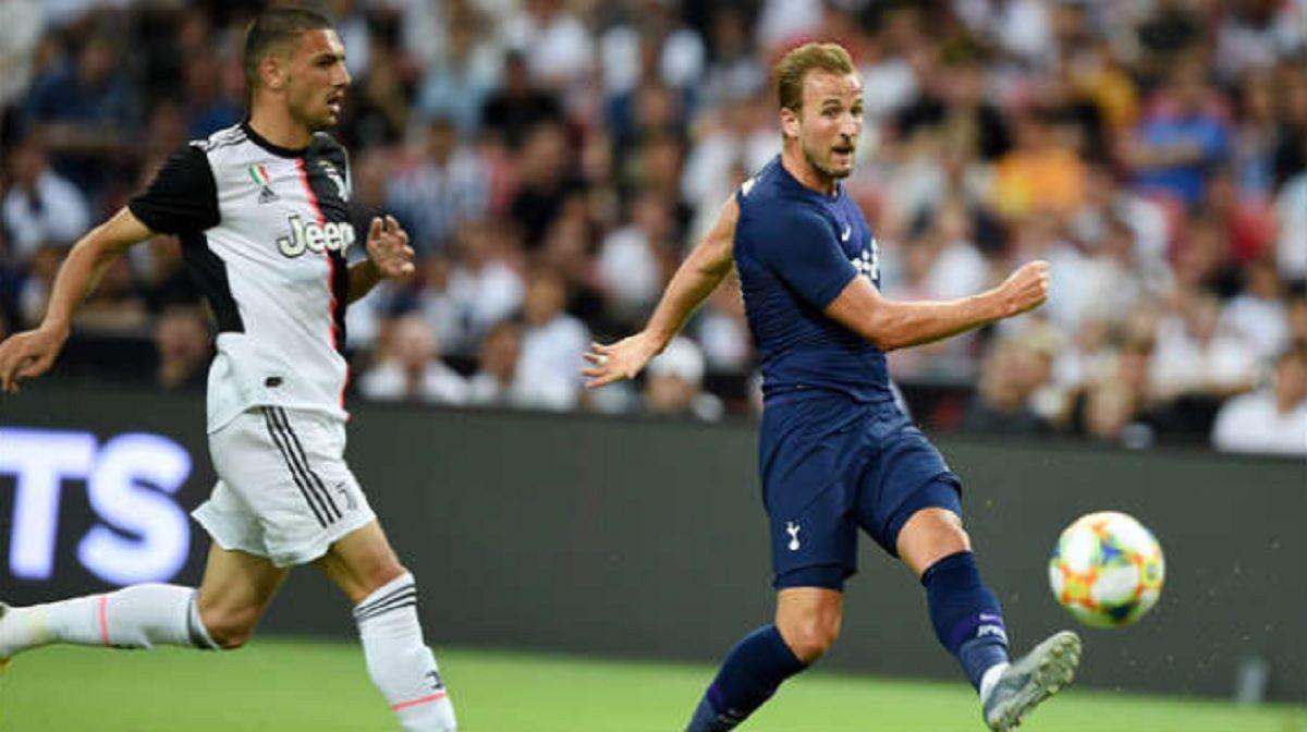 El golazo de media cancha de Harry Kane del Tottenham Hotspur a la Juventus