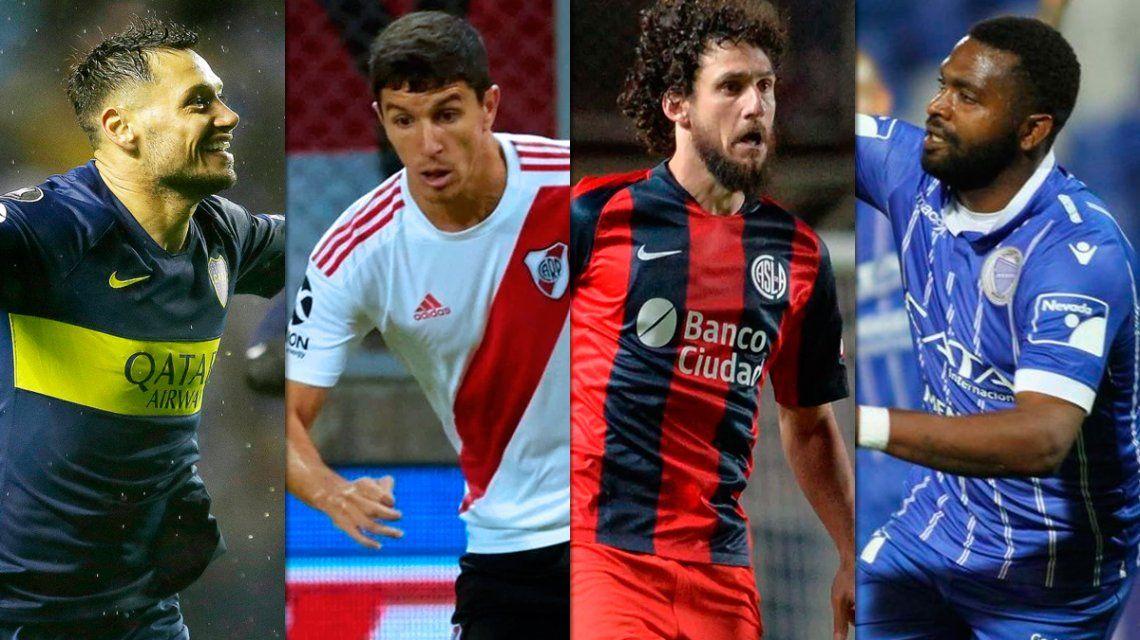 Octavos de la Copa Libertadores: días y horarios de los partidos de River, Godoy Cruz, San Lorenzo y Boca