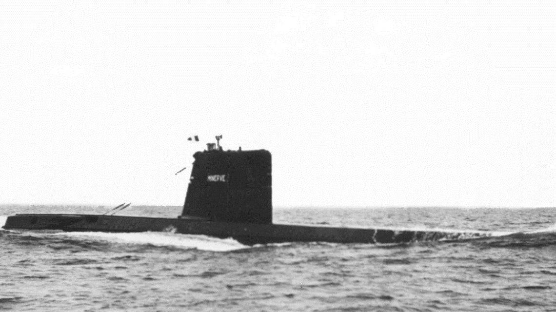 El submarino La Minerve desapareció en 1968 frente al puerto de Tolón en apenas cuatro minutos