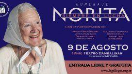 La Federación Gallega organiza un abrazo colectivo a Nora Cortiñas