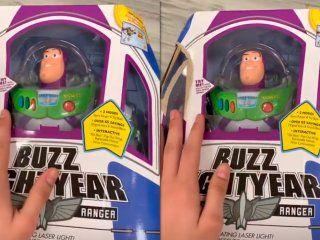 video: el tetrico momento que vivio un instagramer con los juguetes de toy story