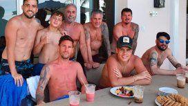 Messi compartió otra foto de sus vacaciones y su estado sorprendió a todos