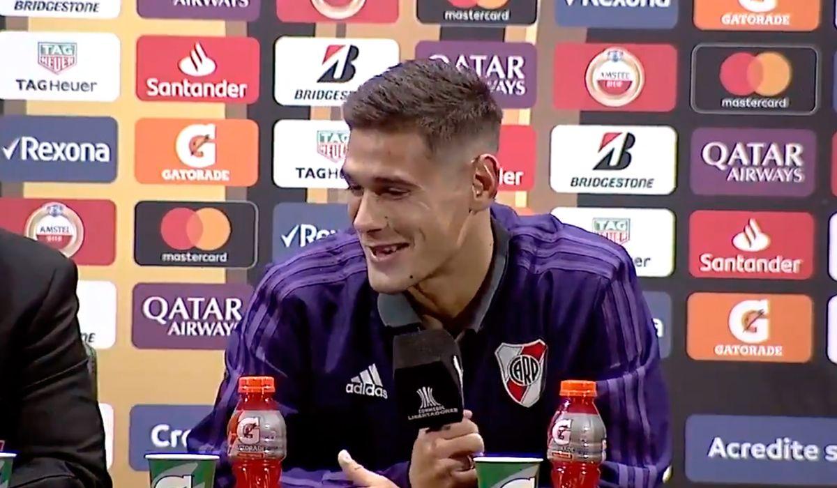 Marcelo Gallardo interrumpió a Martínez Quarta en plena conferencia de prensa