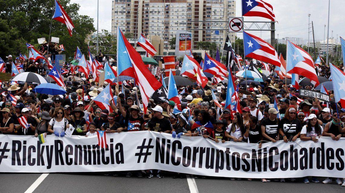 Renunció Ricardo Rosselló, el gobernador de Puerto Rico