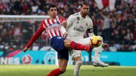 Real y Atlético de Madrid se enfrentan en un amistoso