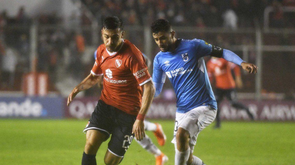 Independiente le ganó con lo justo a la Universidad Católica de Ecuador