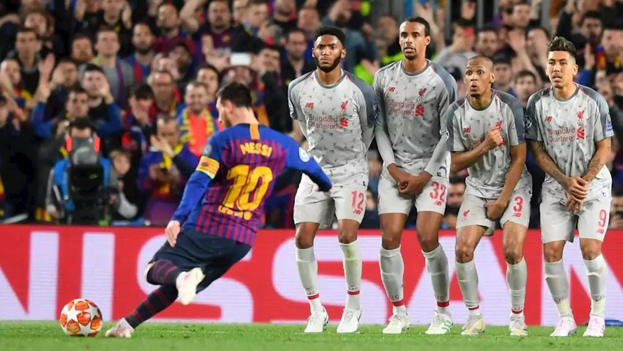 El golazo de Lionel Messi al Liverpool