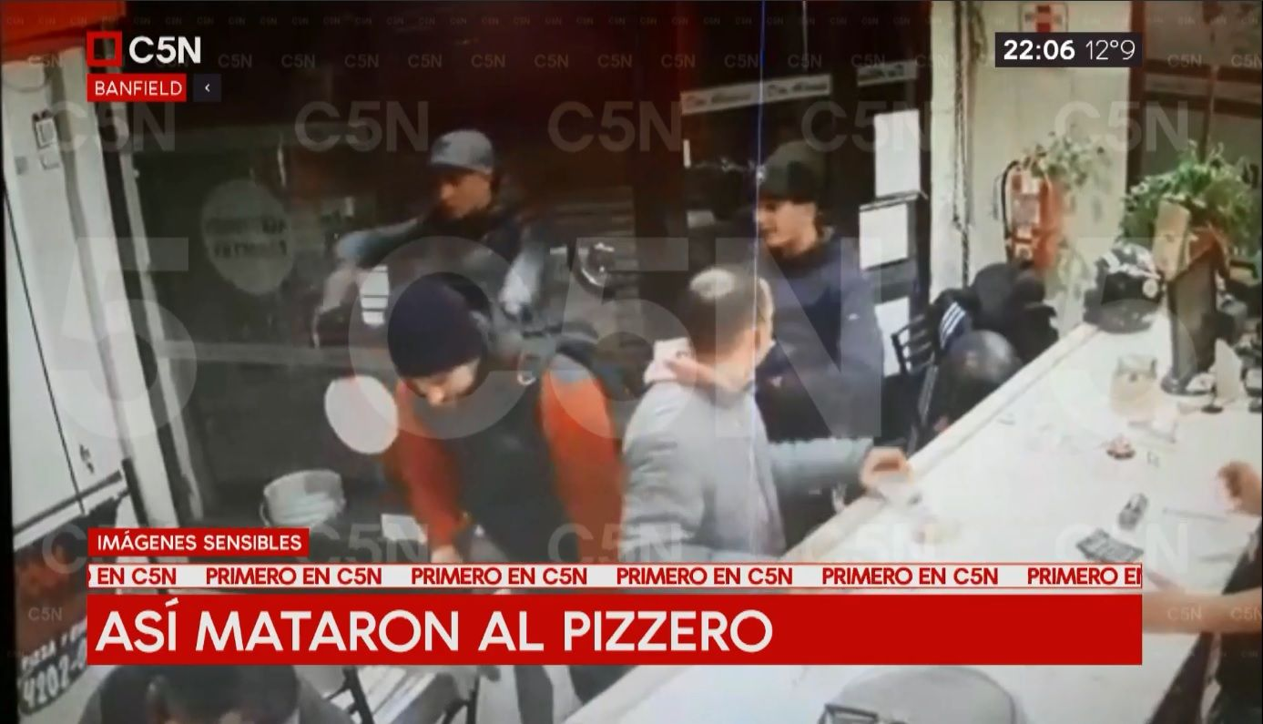 VIDEO: Así mataron al pizzero de Banfield