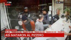 VIDEO: Así mataron al pizzero de Banfield