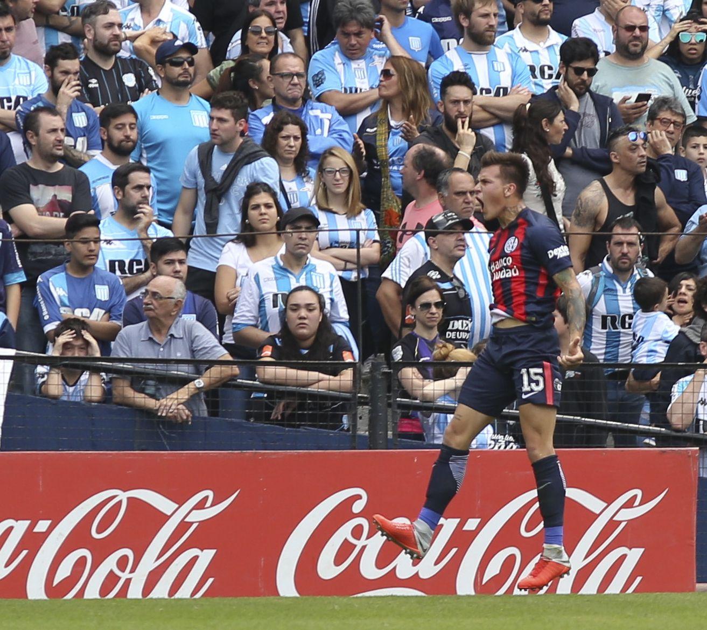 Nicolás Reniero será de la partida en San Lorenzo
