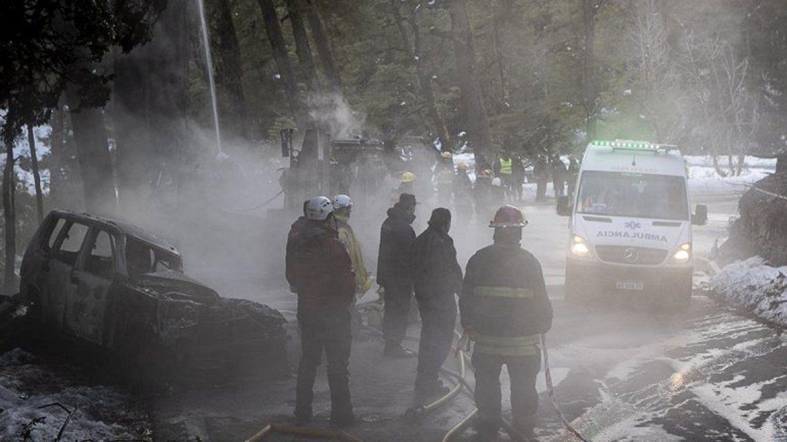 Un trágico choque obligó a interrumpir el camino de los Siete Lago. Foto: La Mañana de Neuquen