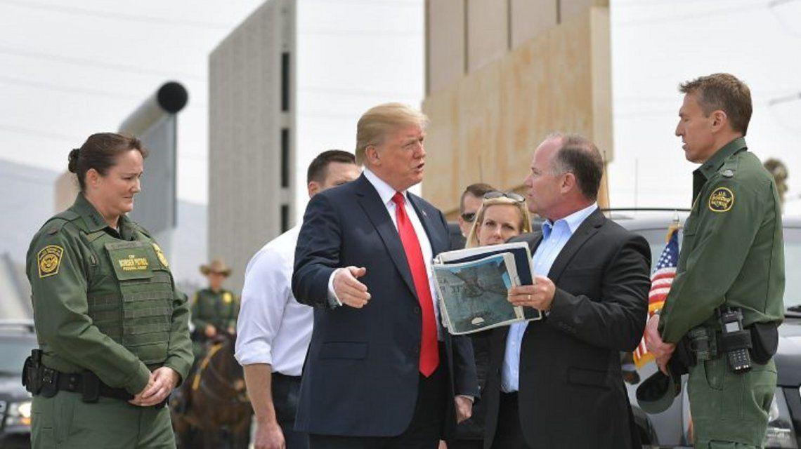 La Corte Suprema de EEUU autorizó a Donald Trump a construir el muro. Foto:cnbc.com