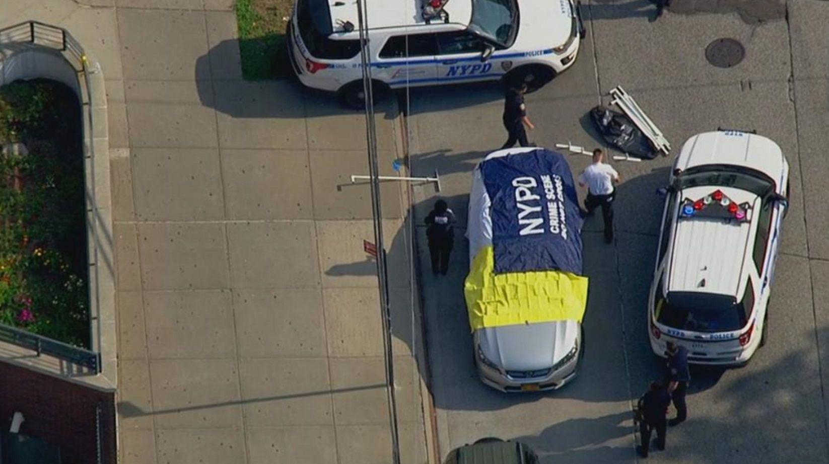 Una toma aérea en el lugar de los hechos. Foto:univision.com