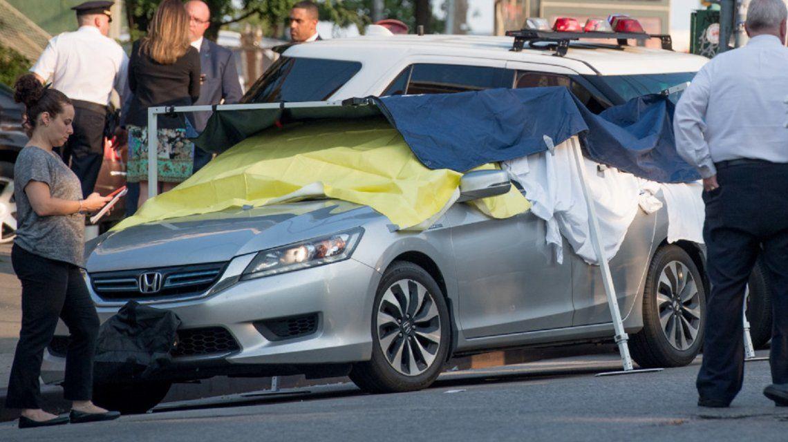 Se olvidó a sus bebes en el auto y horas después los encontró muertos. Foto: The New York Post.