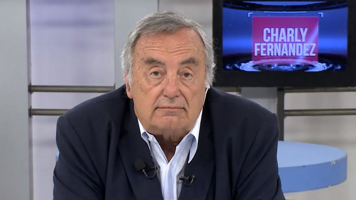 Murió el periodista Charly Fernández