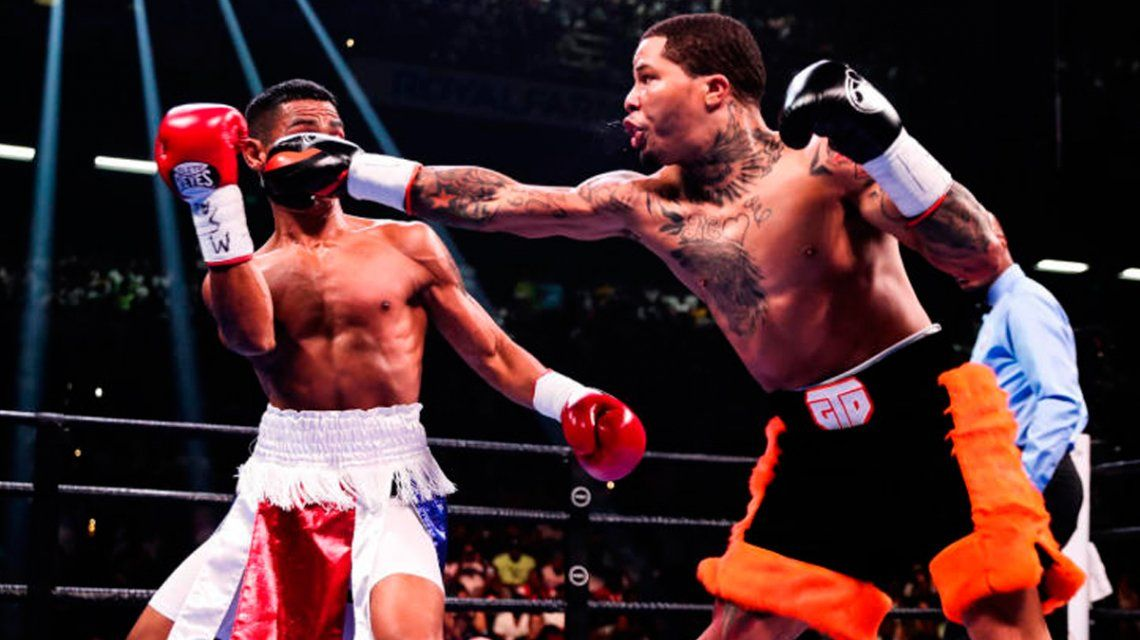 Boxeo: el KO de Gervonta Davis al panameño Ricardo Núñez