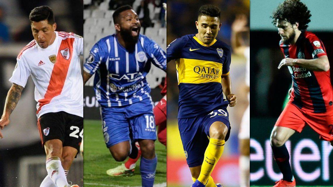 Se definen los octavos de final: cuándo juegan Boca, River, San Lorenzo y Godoy Cruz por la Copa Libertadores