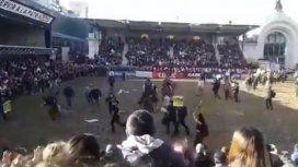 La Rural acusó a los activistas veganos de estresar a los caballos