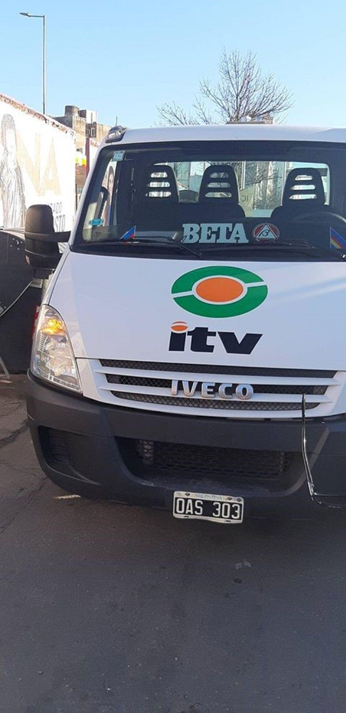 Controlaban las VTV de Córdoba con una camioneta con la oblea vencida