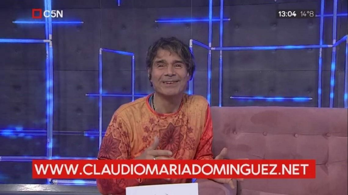 Claudio María Domínguez y el mantra de Hacete cargo