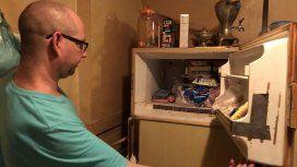 Abrió la heladera de su mamá y encontró el cadáver de un bebé