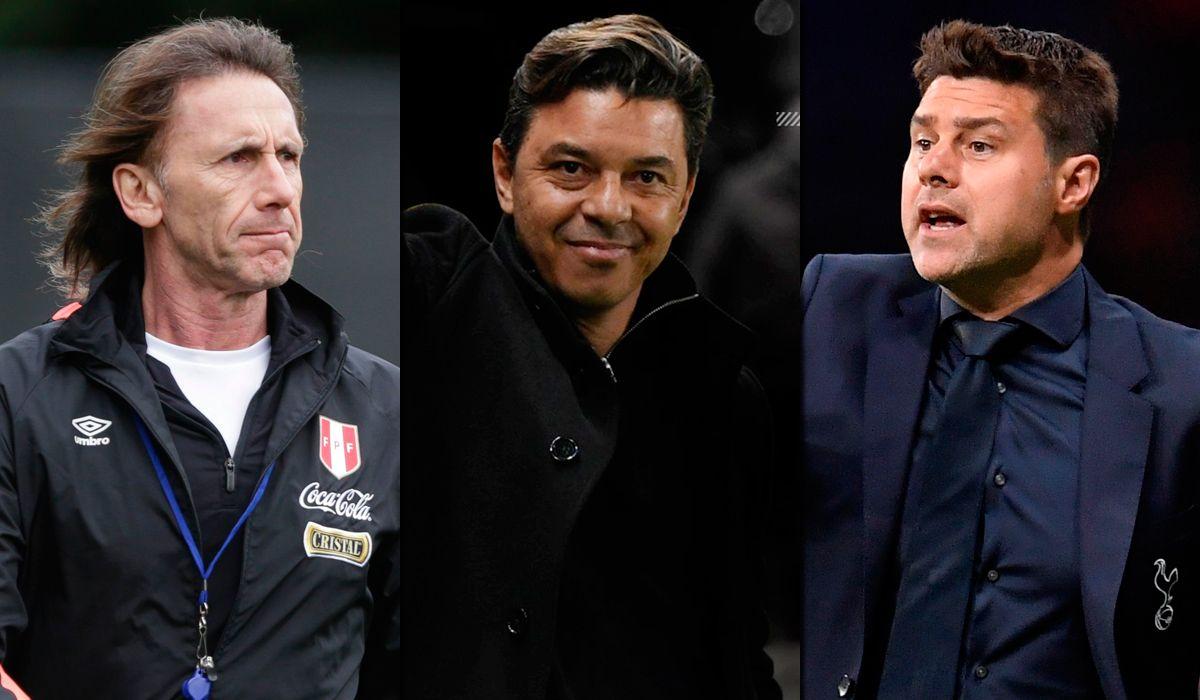 Gareca, Gallardo y Pochettino fueron nominados al premio The Best