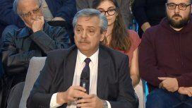 Alberto Fernández en Ciudad Universitaria