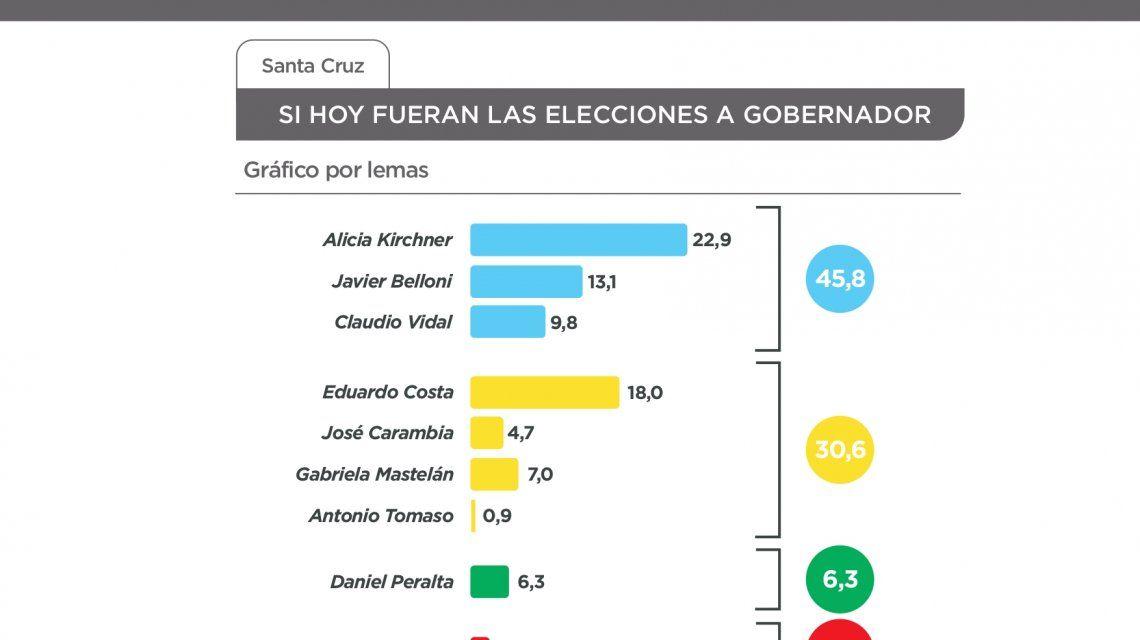 Elecciones 2019: según dos encuestas, Alicia Kirchner sería reelecta