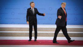 Mauricio Macri y Donald Trump