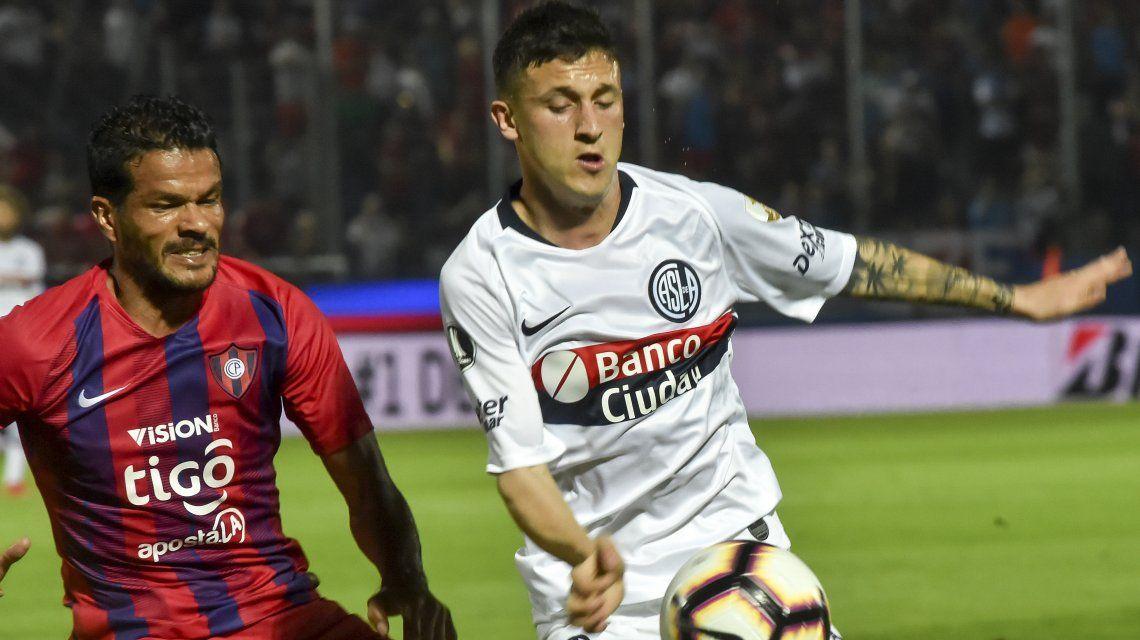 San Lorenzo perdió con Cerro Porteño y quedó afuera de la Libertadores