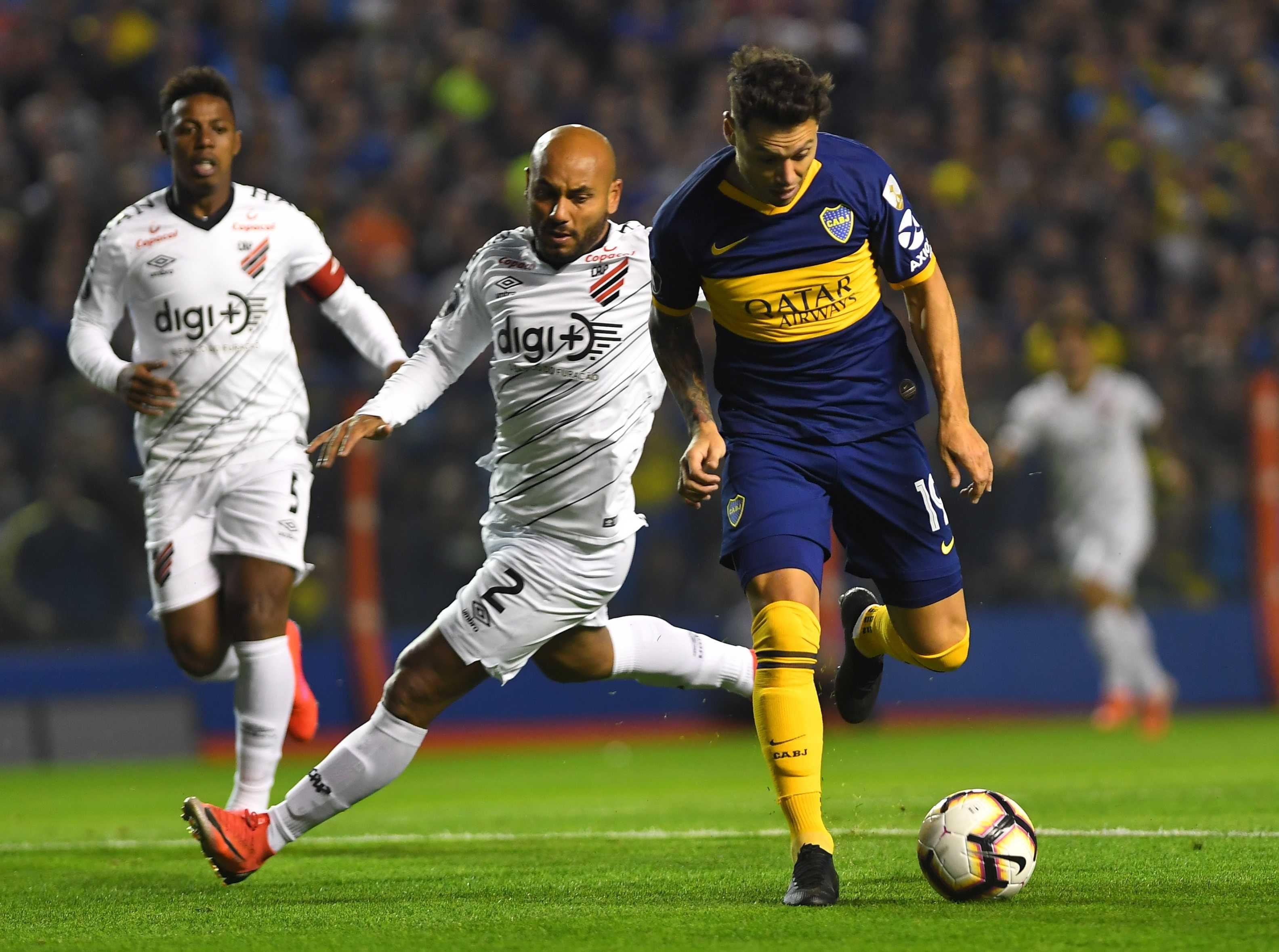 Boca le ganó a a Paranaense y avanzó a cuartos de final