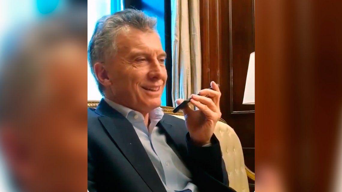 El consejo de Mauricio Macri al chico argentino que ganó US$ 900 mil en el Fortnite: Todo llega cuando uno se prepara