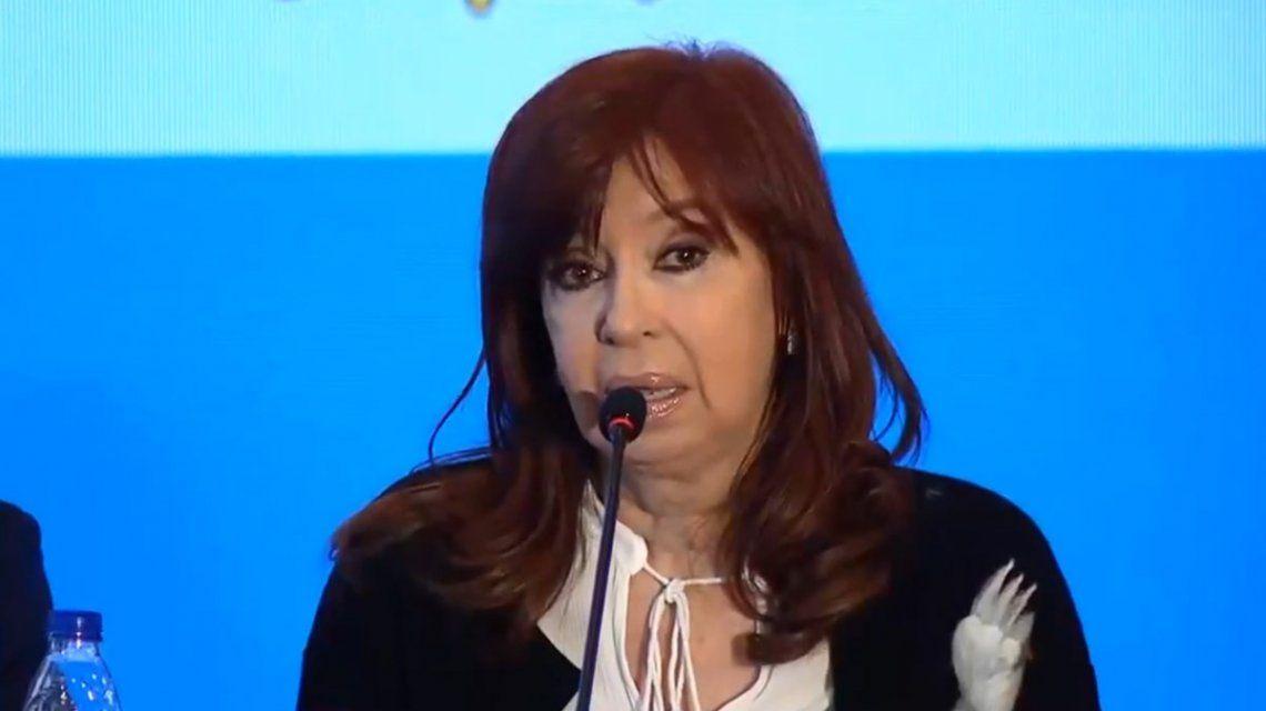 Cristina: Es necesario tener capacidad y sensibilidad en la Casa Rosada