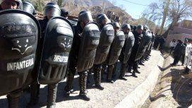 VIDEO: Cantos e insultos a Macri en su visita a Jujuy