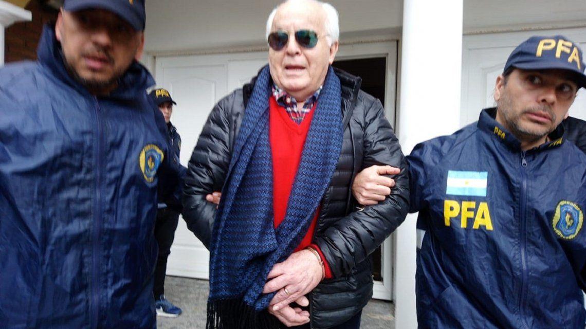 Detuvieron a Vino Caliente, el  jefe del sindicato portuario de gran Rosario por lavado de dinero
