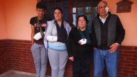 La familia atacada por el dogo en Córdoba