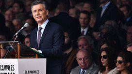 Macri inaugurará la 133 edición de la Exposición Rural de Palermo