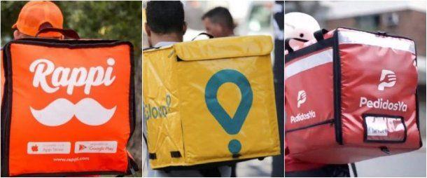 Las empresas de comida rápida ahora trabajan con delivery vía apps