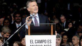 Macri inauguró La Rural con clima de acto de campaña: El campo argentino genera trabajo de calidad
