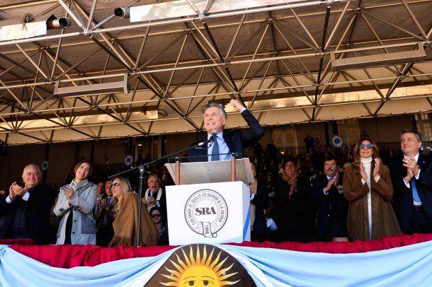 Mauricio Macri inauguró de la 133 Exposición Rural en Palermo.