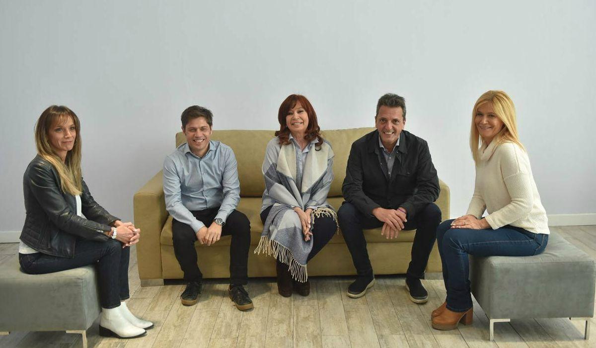 La primera foto de Cristina Kirchner y Sergio Massa juntos