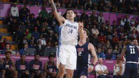 Argentina vapuleó a EE.UU. y es finalista en el básquet de los Panamericanos
