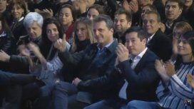 La ovación a Massa cuando Cristina lo mencionó durante un acto en Malvinas Argentinas