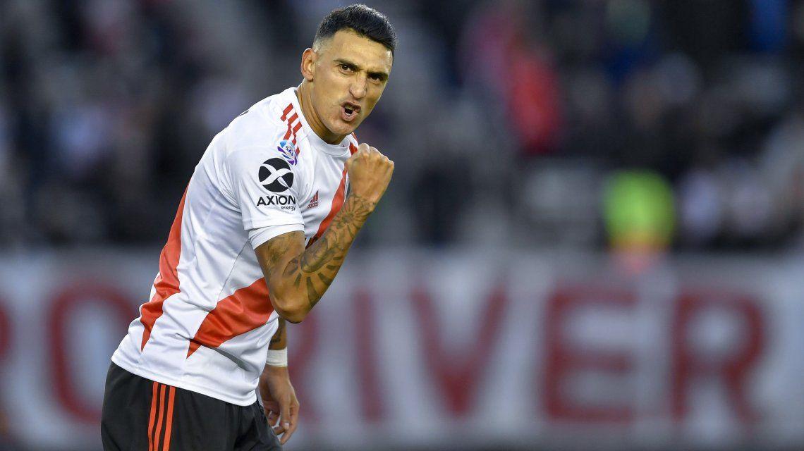 Matías Suárez marcó dos goles
