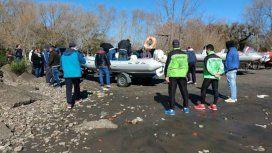 Buscan a dos pescadores que desaparecieron en el Río de la Plata