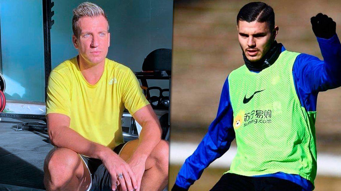 Maxi López aconsejó a Mauro Icardi sobre su futuro futbolístico