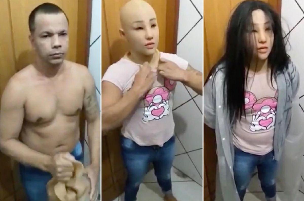 Brasil: apareció muerto en su celda el narco que quiso escapar disfrazado de su hija
